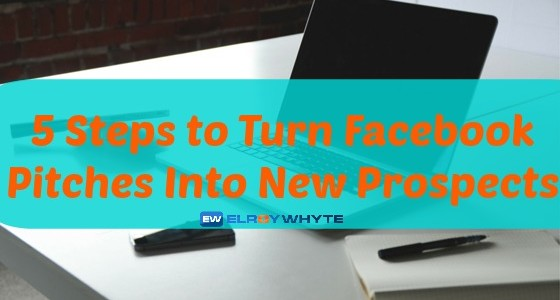 MLM Prospecting Tips U2013 Turn Facebook Pitches Into New Prospects.