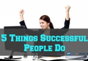 people do to succeed