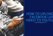 how to upload facebook live video to youtube